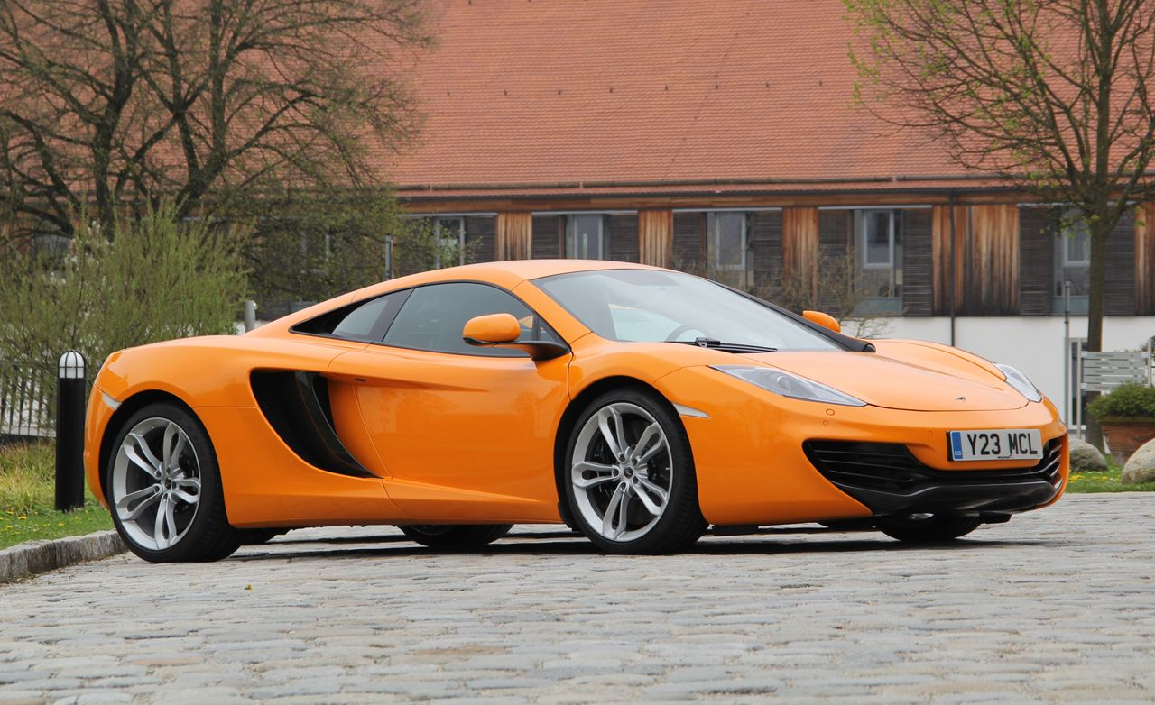 Exceptional 2014 McLaren 12C Coupe