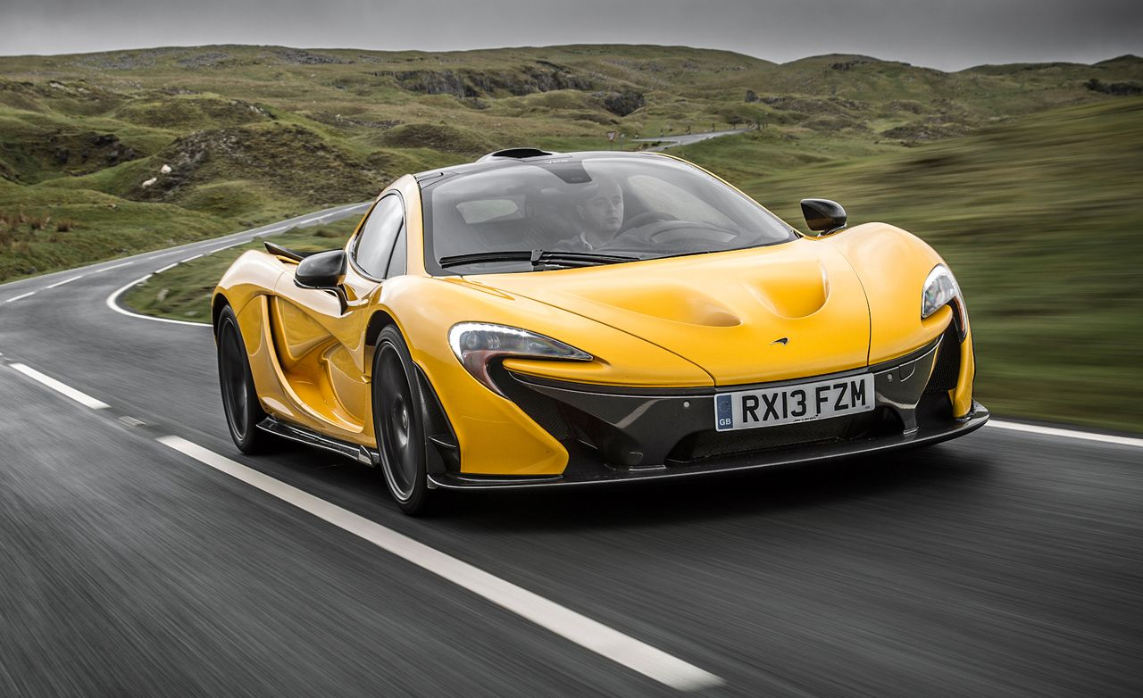2014 mclaren p1 test – review – car and driver