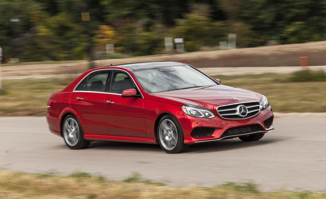 2013 Mercedes E350 Coupe Review >> 2014 Mercedes-Benz E550 4MATIC Test | Review | Car and Driver