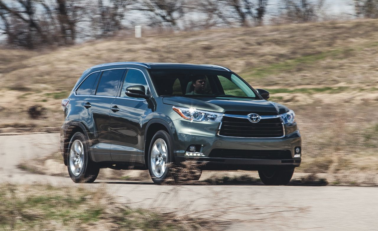 Toyota Highlander Reviews Toyota Highlander Price Photos And