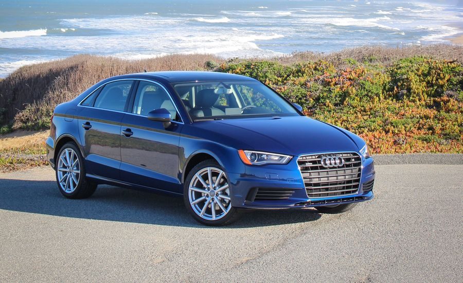 2015 audi a3 sedan first drive 1 8t 2 0t review car and driver. Black Bedroom Furniture Sets. Home Design Ideas