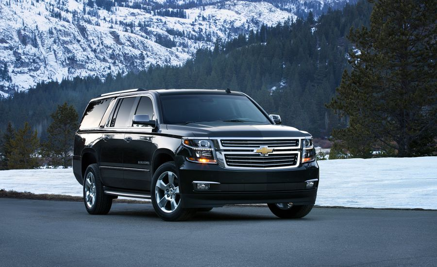 2015 chevrolet suburban first drive review car and driver. Black Bedroom Furniture Sets. Home Design Ideas