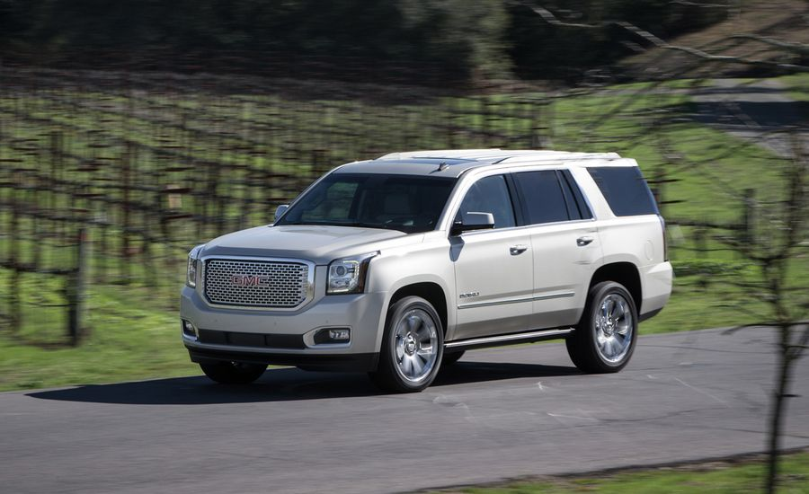 2015 Gmc Yukon First Drive Review Car And Driver