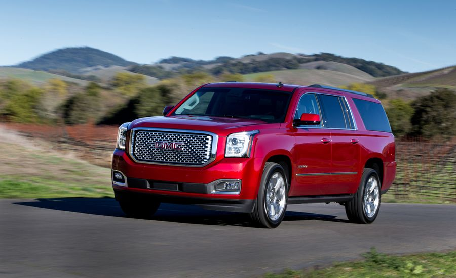 2015 gmc yukon xl denali xl first drive review car and driver. Black Bedroom Furniture Sets. Home Design Ideas