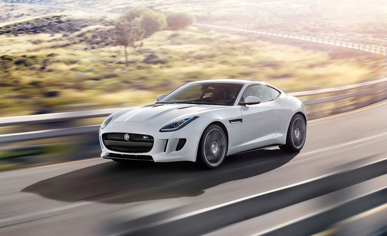 2015 jaguar f type r coupe first drive review car and. Black Bedroom Furniture Sets. Home Design Ideas