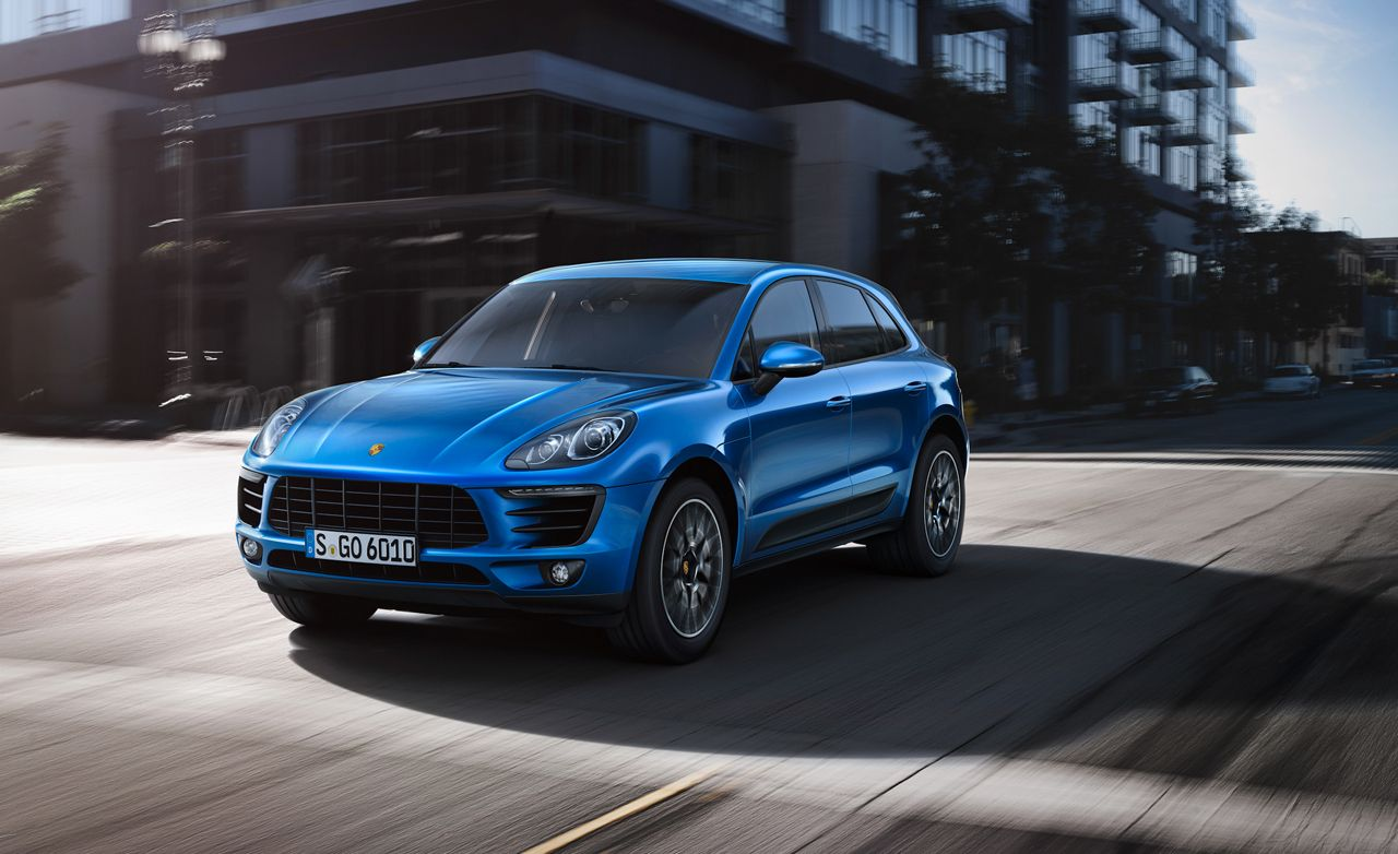 2015 Porsche Macan S Turbo First Drive Review Car And Driver