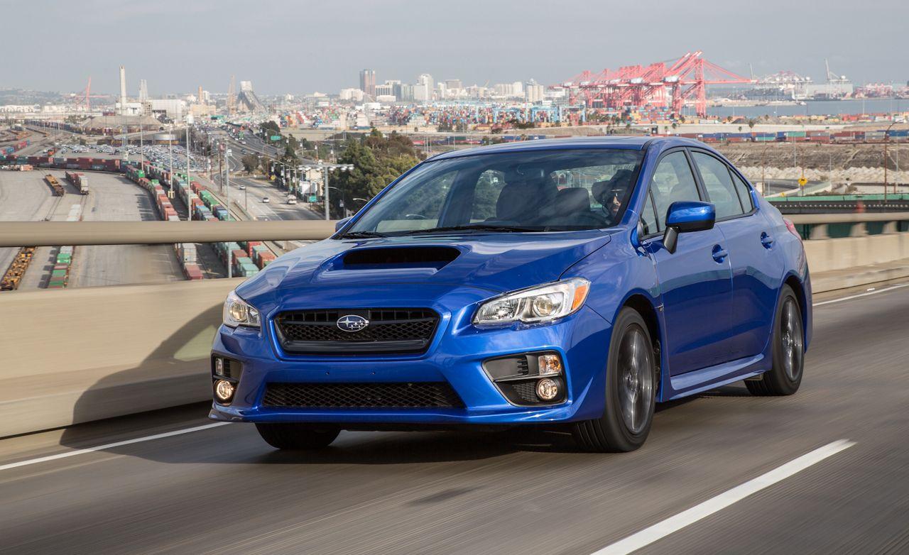 2015 subaru wrx sedan manual test review car and driver rh caranddriver com are all subaru wrx manual Subaru Impreza Manual
