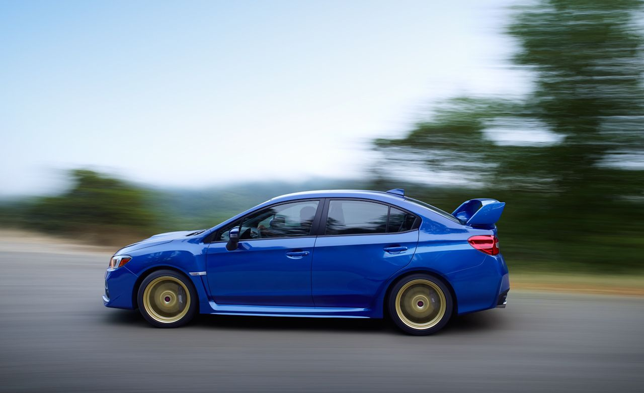 2015 subaru wrx sti first drive – review – car and driver