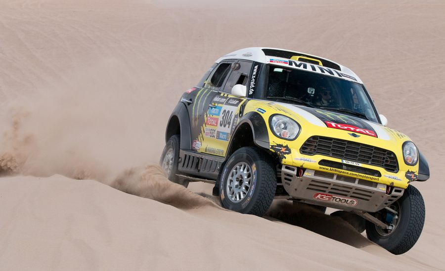 Mini Cooper Countryman ALL4 Racing Dakar Rally Car First Drive ...