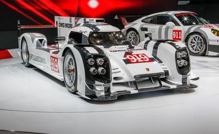 Porsche 919 Hybrid Le Mans Prototype