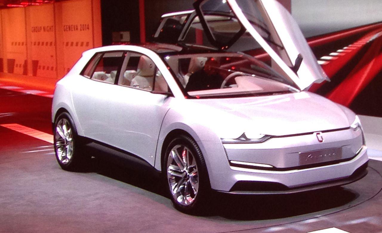 2014 Italdesign Giugiaro Clipper Concept