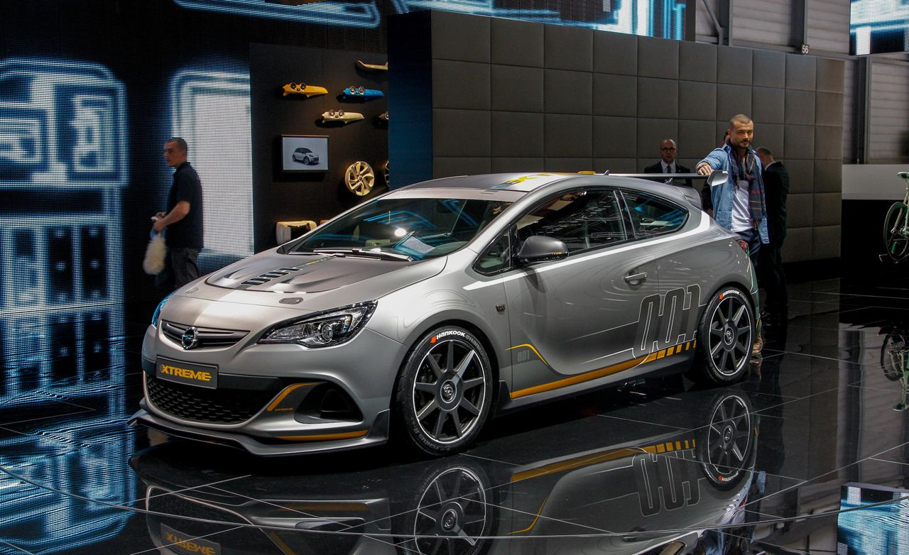 2014 Opel Astra Opc Extreme Photos And Info 8211 News 8211 Car