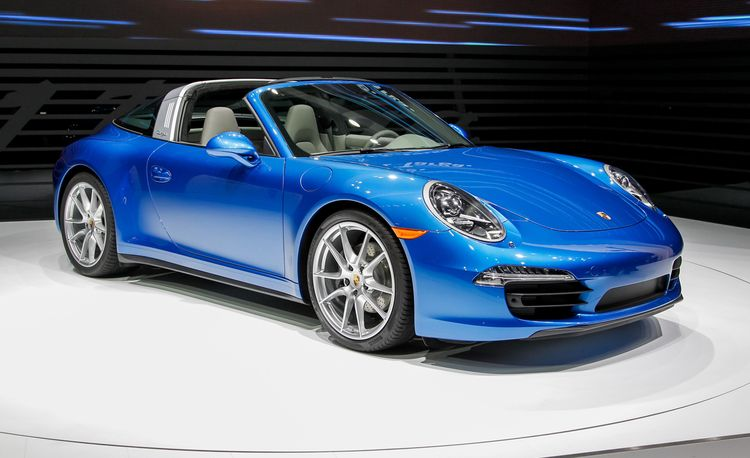2014 Porsche 911 Targa 4 / 4S: Just Like the Original