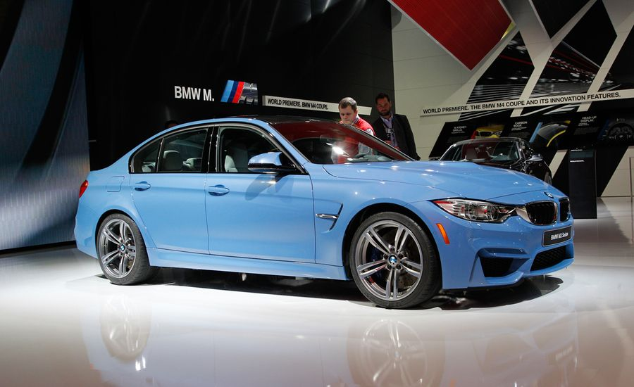 BMW M Photos And Info News Car And Driver - 2015 bmw m3 price