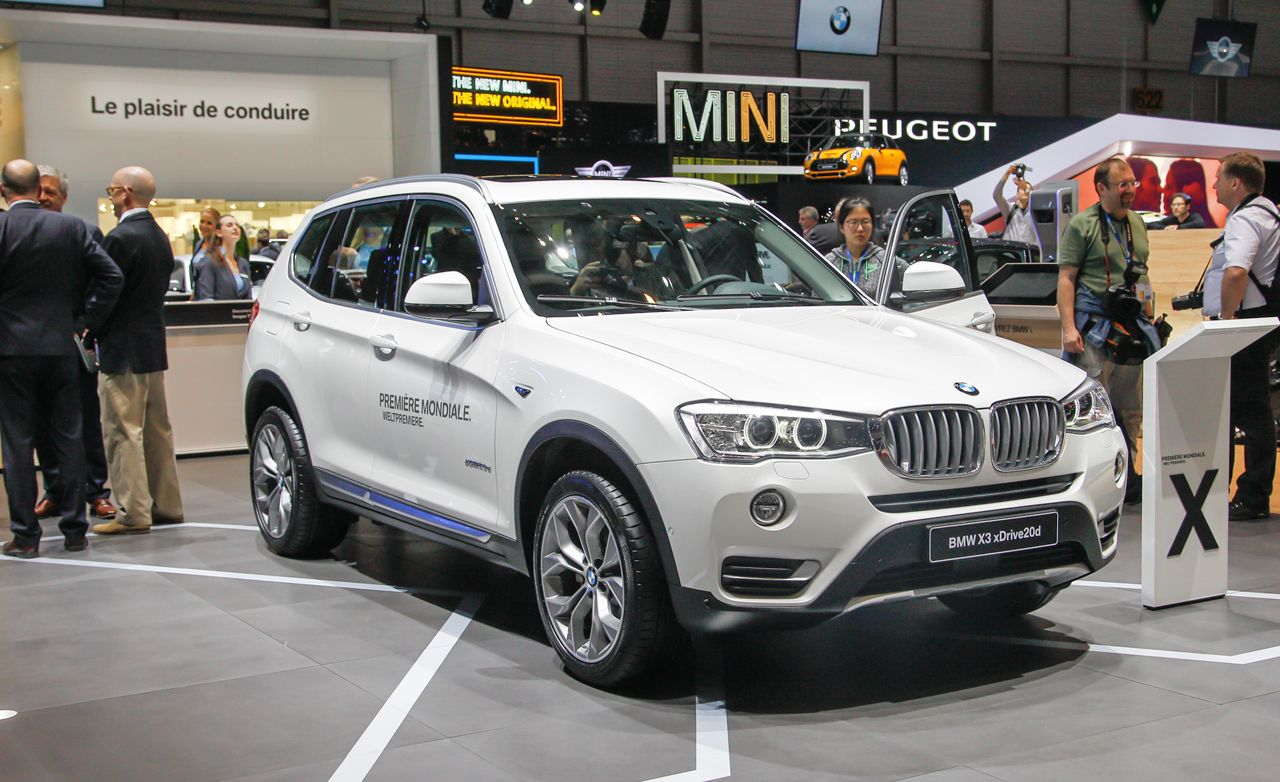 2015 bmw x3 photos and info news car and driver. Black Bedroom Furniture Sets. Home Design Ideas