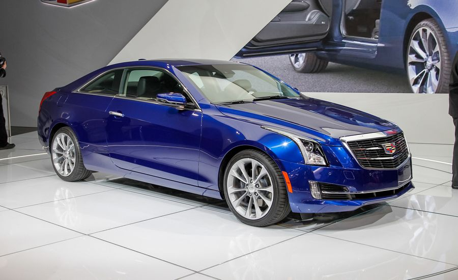 2015 Cadillac ATS Coupe Photos and Info | News | Car and Driver