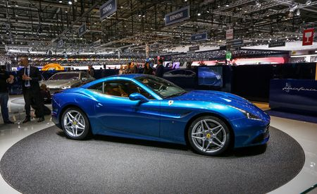 2015 Ferrari California T Debuts With Twin-Turbo V-8, F12berlinetta Styling