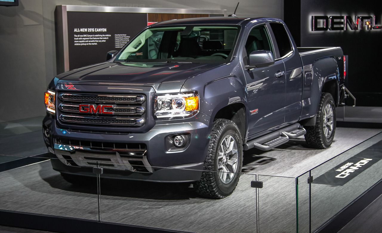 2015 GMC Canyon: Like a Sierra On a Diet