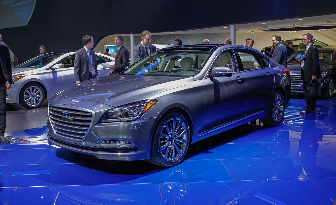 2015 Hyundai Genesis: New Looks, Same Engines