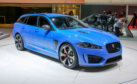 2015 Jaguar XFR-S Sportbrake: Your Everyday 550-hp, 186-mph Station Wagon