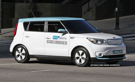 2015 Kia Soul EV Spied: One Hummed By the Cuckoo's Nest
