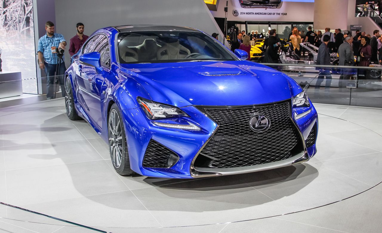 "2015 Lexus RC F: ""Pure Driving Enjoyment"""