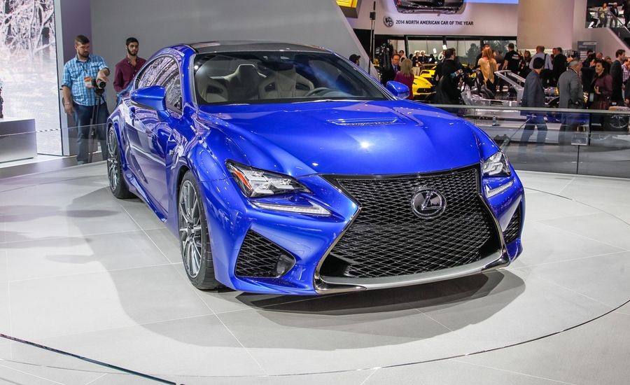 2015 Lexus Rc F Photos And Info News Car And Driver