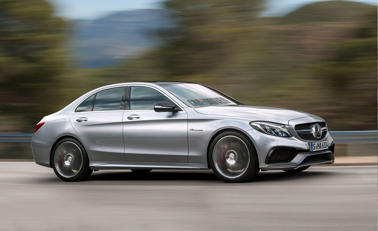 2015 Mercedes-Benz C63 AMG Rendered, Detailed