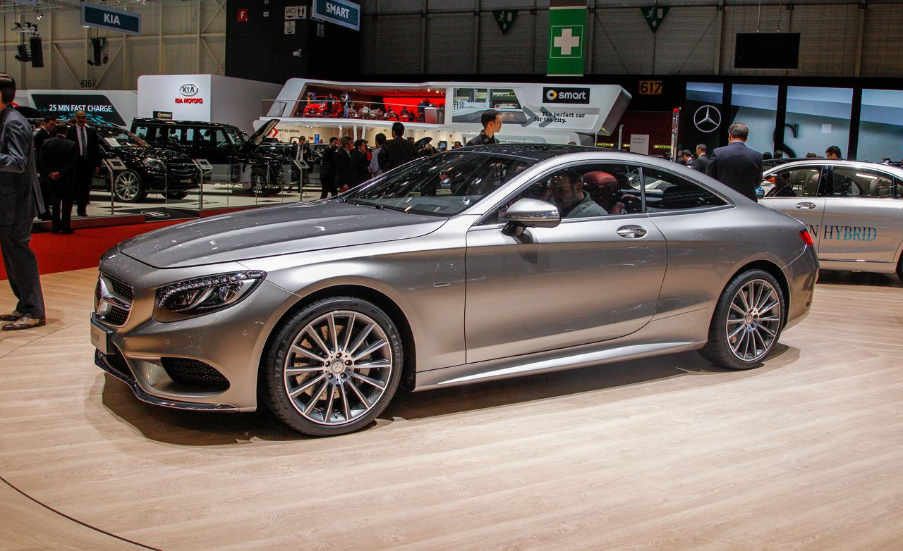 2015 Mercedes-Benz S-class Coupe Photos and Info | News ...