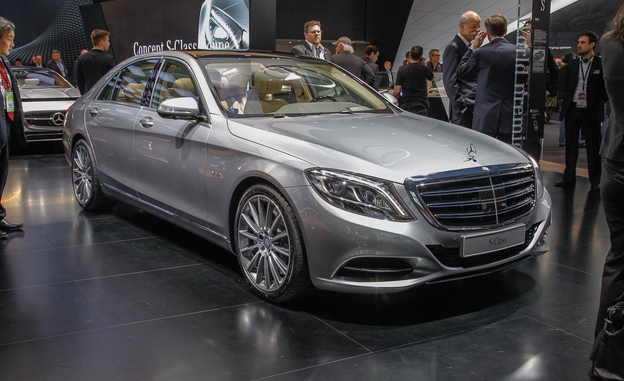 2015 Mercedes-Benz S600: A Displacement-Matching Badge
