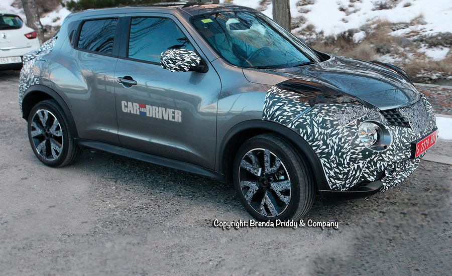 2015 Nissan Juke Spy Photos