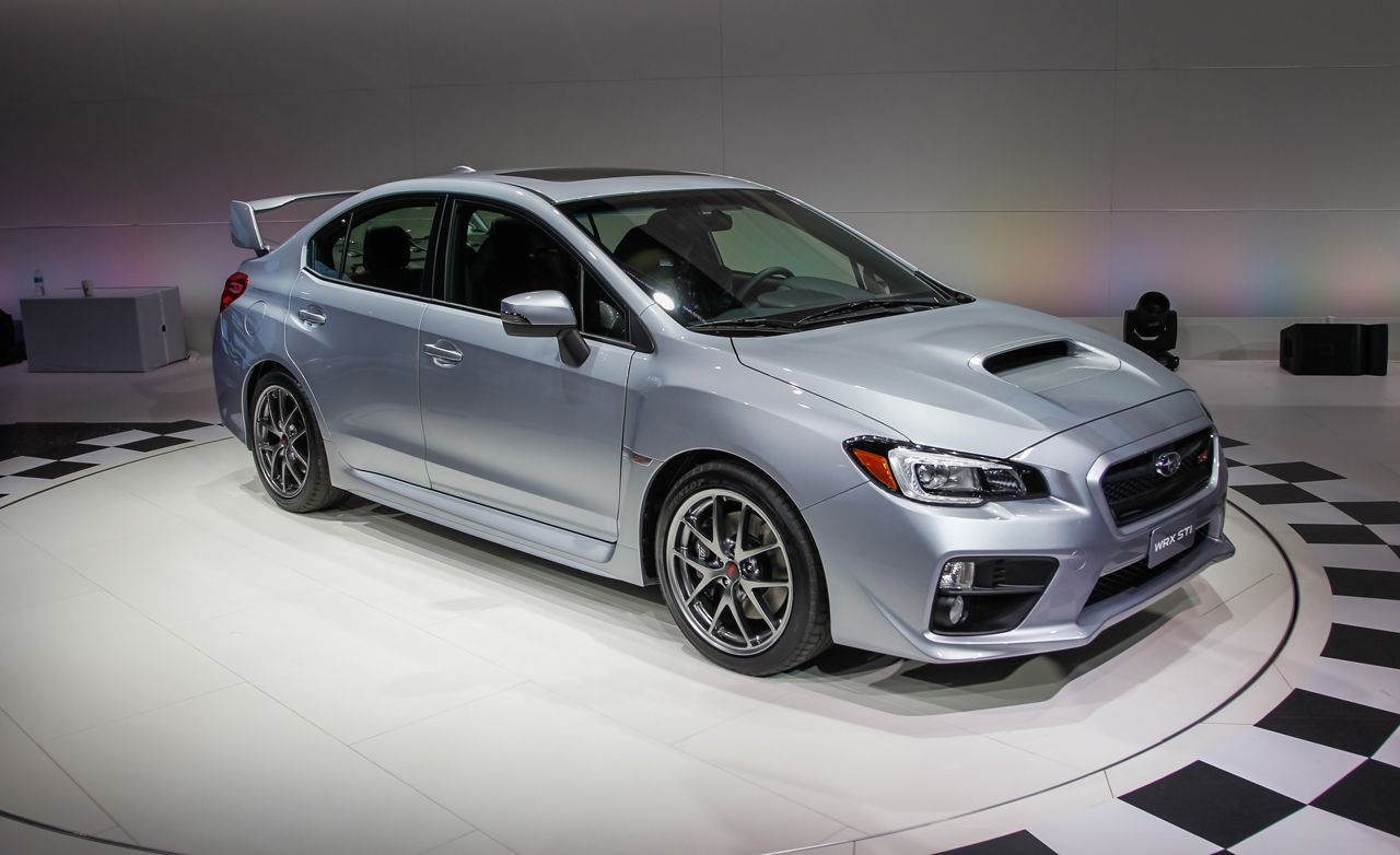 2015 subaru wrx sti photos and info news car and driver. Black Bedroom Furniture Sets. Home Design Ideas