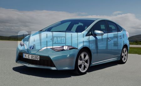 2015 Toyota Prius Rendered, Detailed