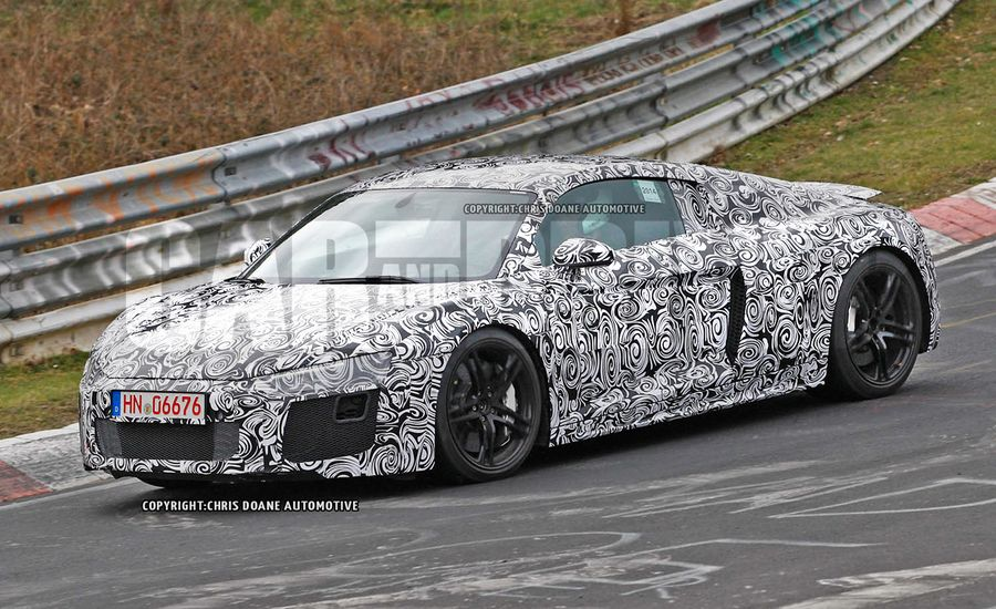 2016 Audi R8 Spied
