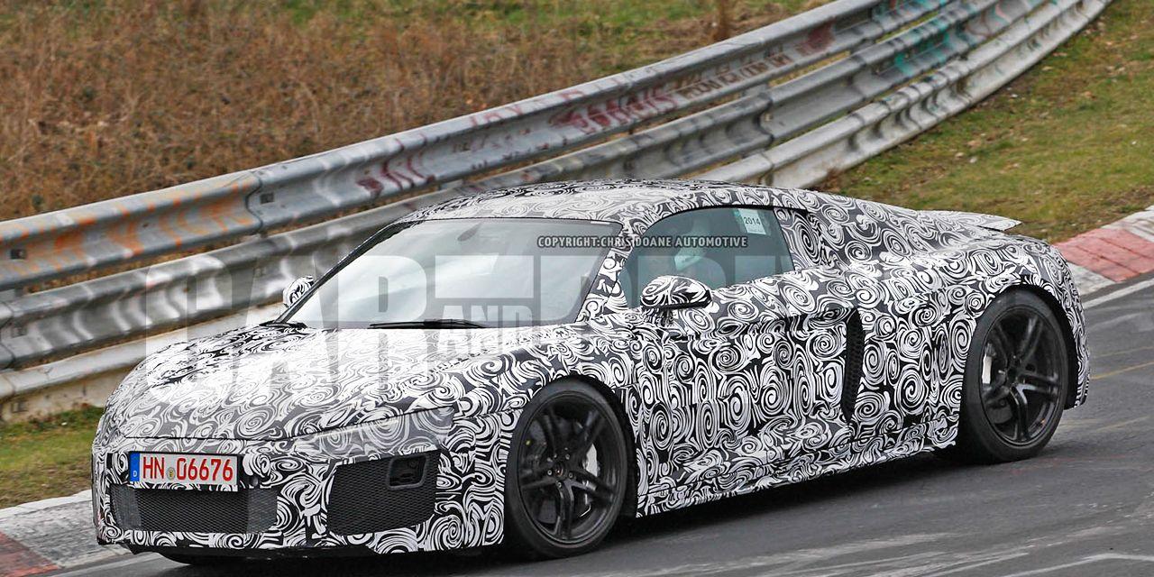 2016 Audi R8 Spied