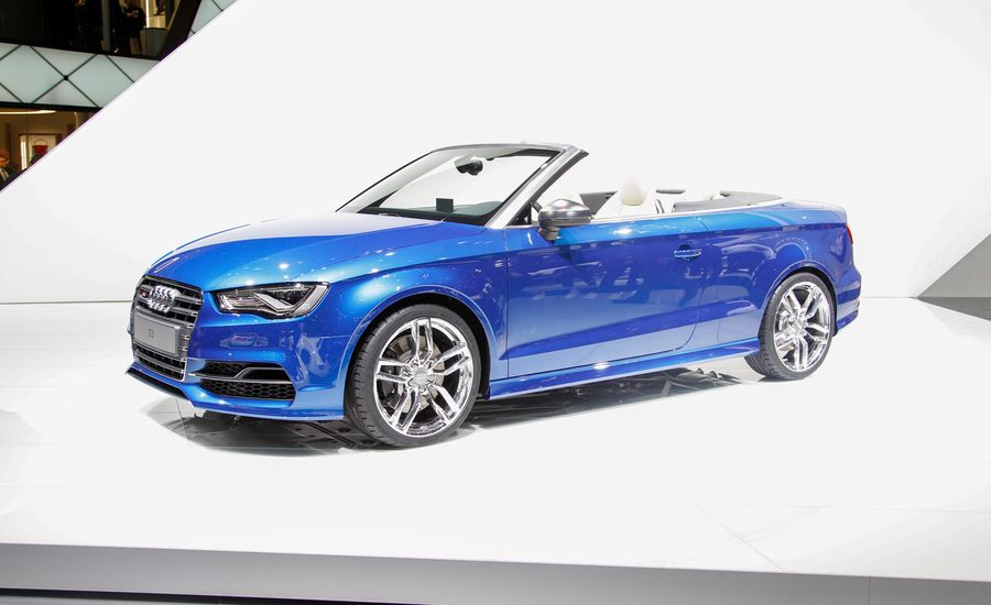 2016 audi s3 cabriolet photos and info news car and driver. Black Bedroom Furniture Sets. Home Design Ideas