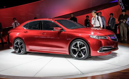 "Acura TLX Concept: Using the Term ""Concept"" Loosely"
