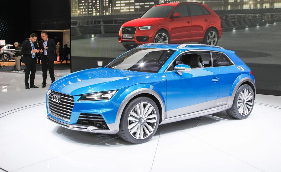 Audi Allroad Shooting Brake Concept: The Next TT in Disguise