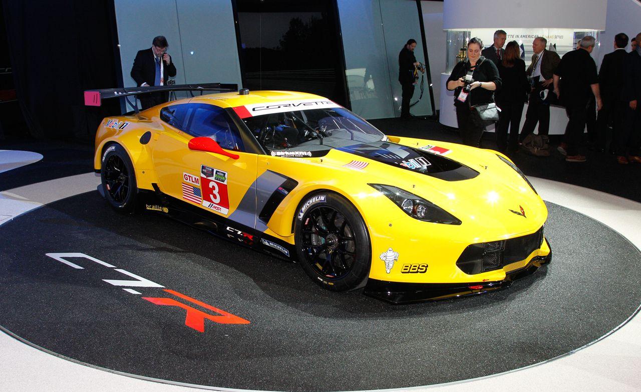 Chevrolet Reveals Corvette C7.R Race Car