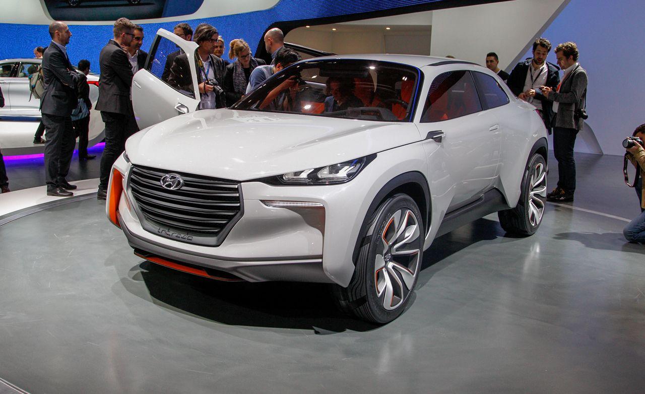 Hyundai Intrado Concept Photos And Info 8211 News Car Driver