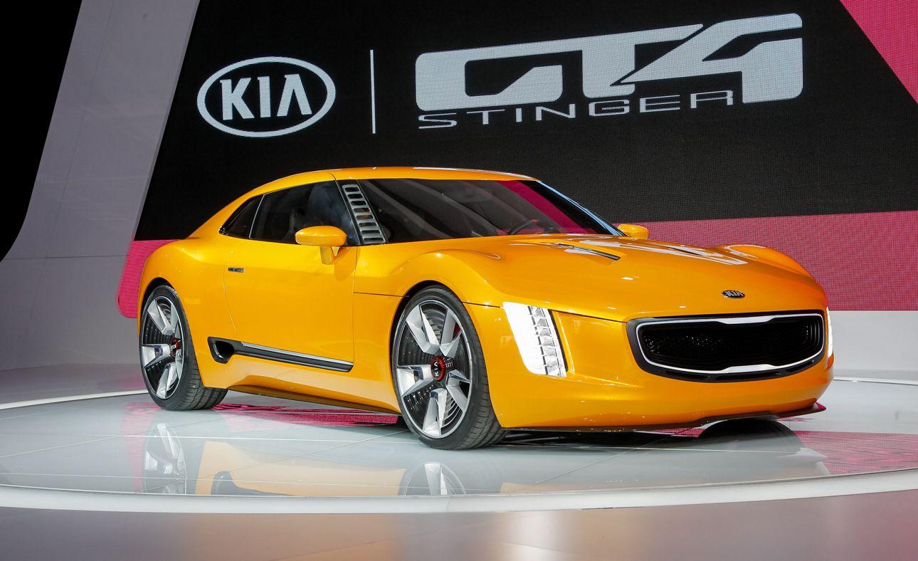 Kia Gt4 Stinger Concept Photos And Info News Car And