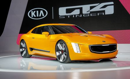 Kia GT4 Stinger Concept: Kia Has Motorsports On Its Mind