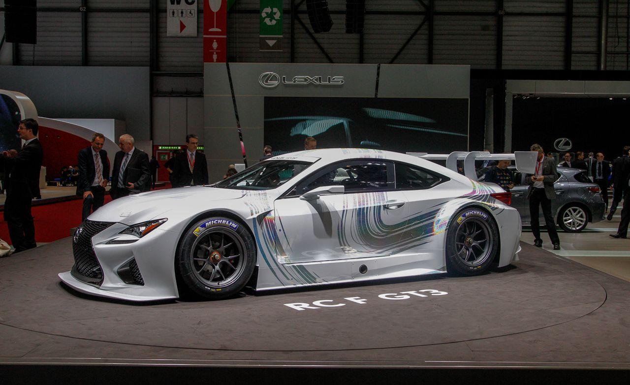 Lexus RC F GT3: The Race-Ready Lexus Coupe