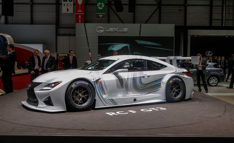 Lexus RC F GT3: The Race-Ready Lexus Coupe