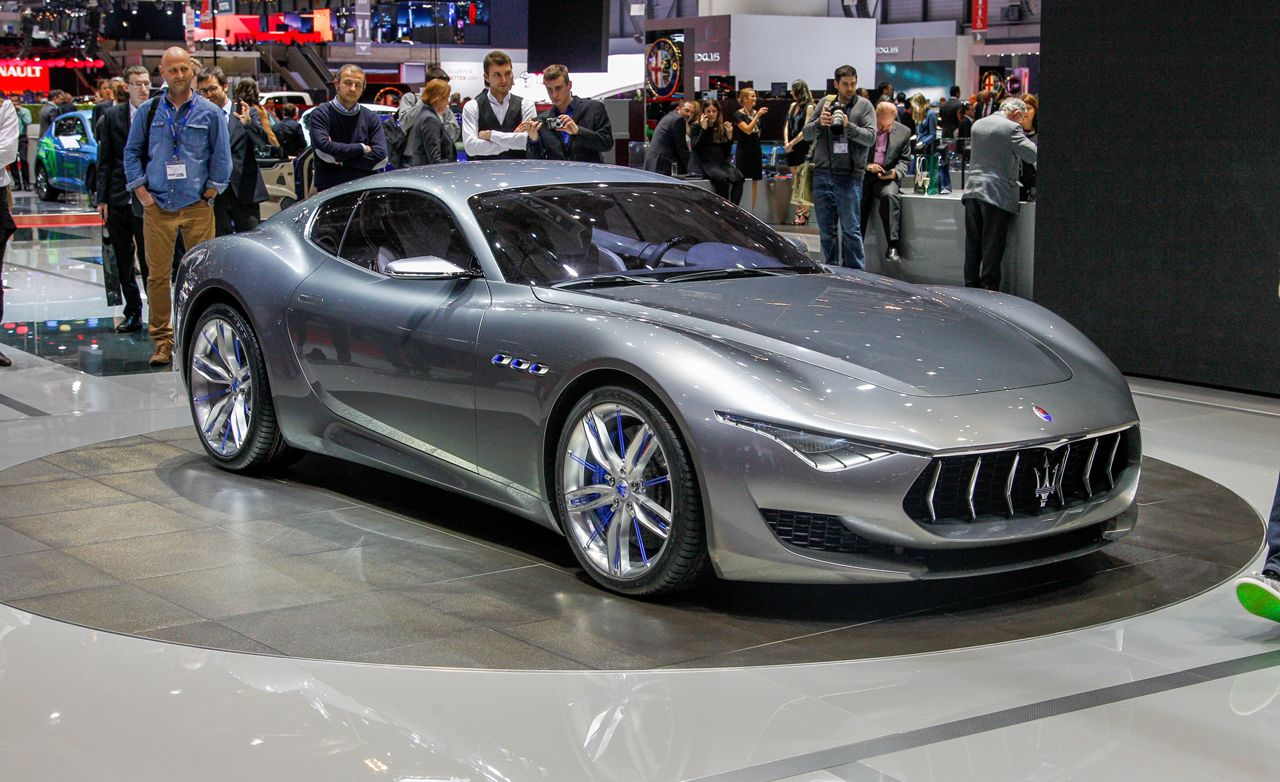 Maserati Alfieri Concept Is Pure Beauty, Aimed Straight for Jaguar F-type Coupe