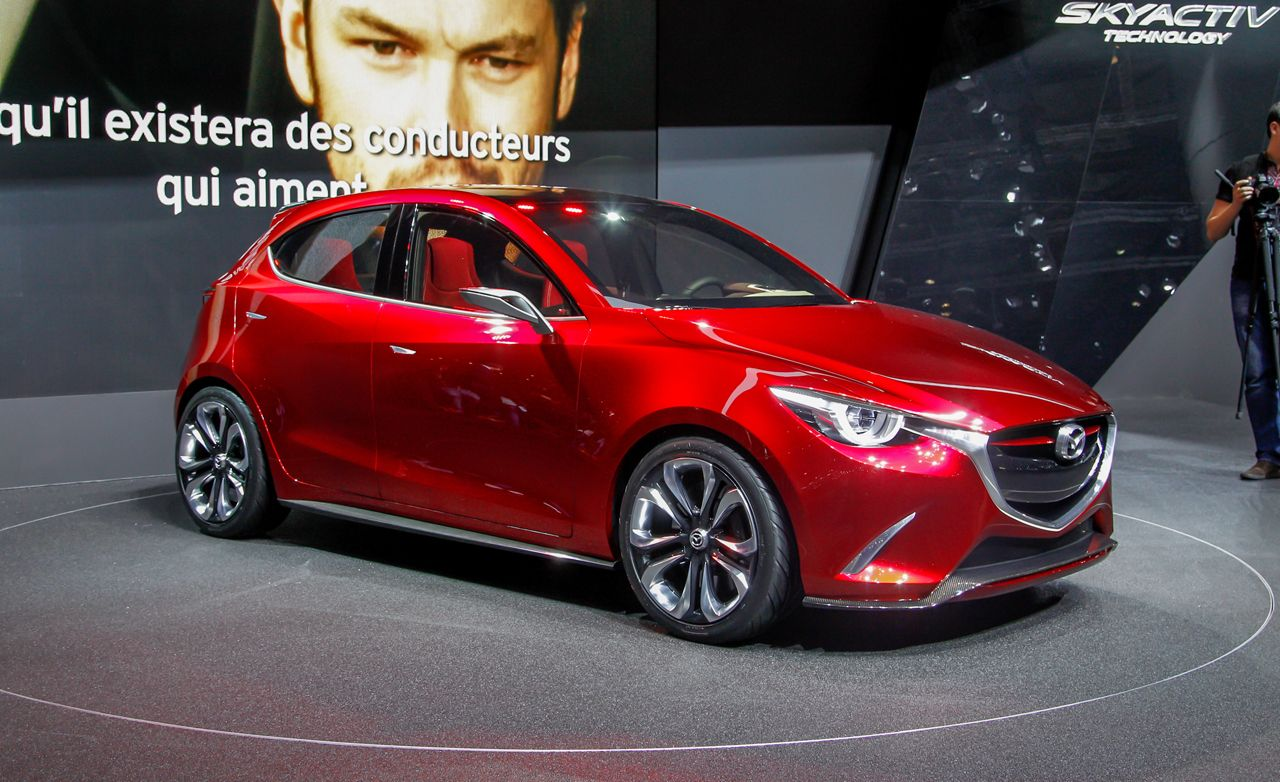 Mazda Hazumi Concept: KODOfying Subcompact Style And Substance Awesome Ideas