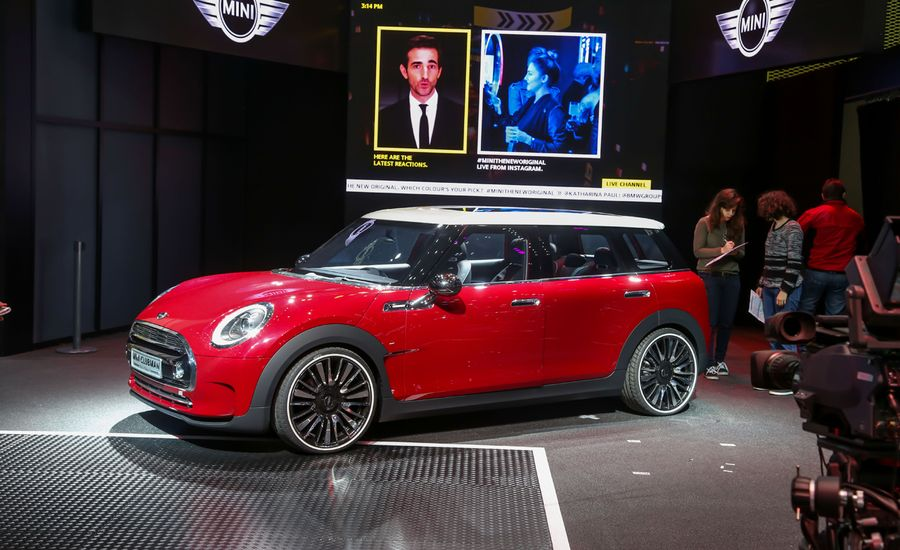 Mini Clubman Concept: Now With Six Doors!