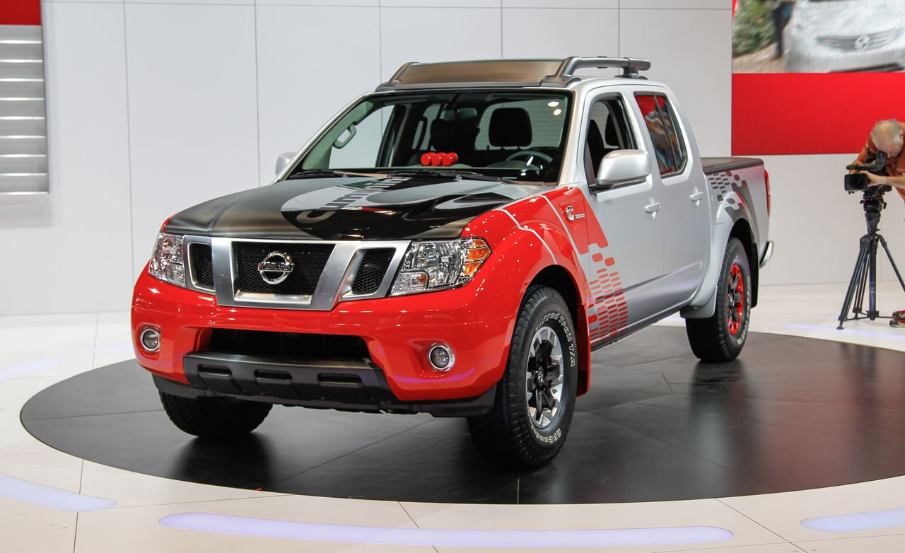 nissan frontier diesel runner concept photos and info news car and driver. Black Bedroom Furniture Sets. Home Design Ideas