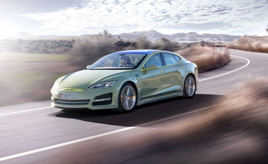 Rinspeed XchangE Electric Sedan Concept
