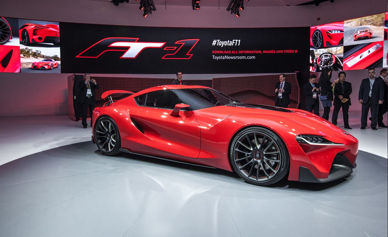Toyota Ft 1 >> Toyota Ft 1 Concept Photos And Info News Car And Driver